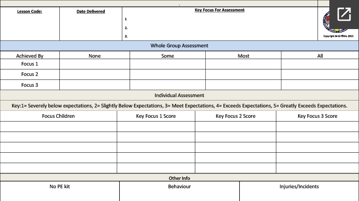 generic-assessment-sheet